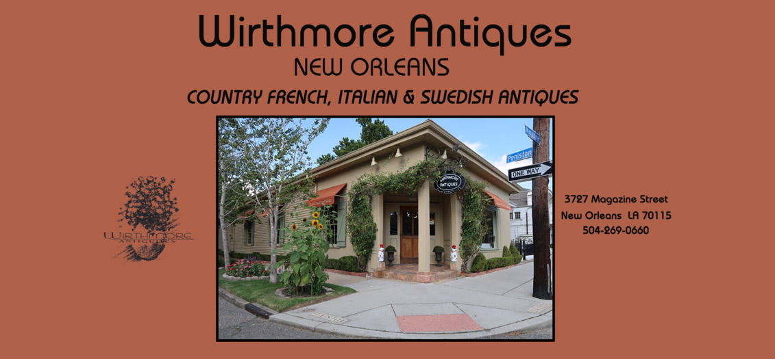 Come See Us When You Are Antique Shopping In New Orleans! Open Tuesday    Friday 9:00AM   5:00PM | Saturday 10:00AM   5:00PM